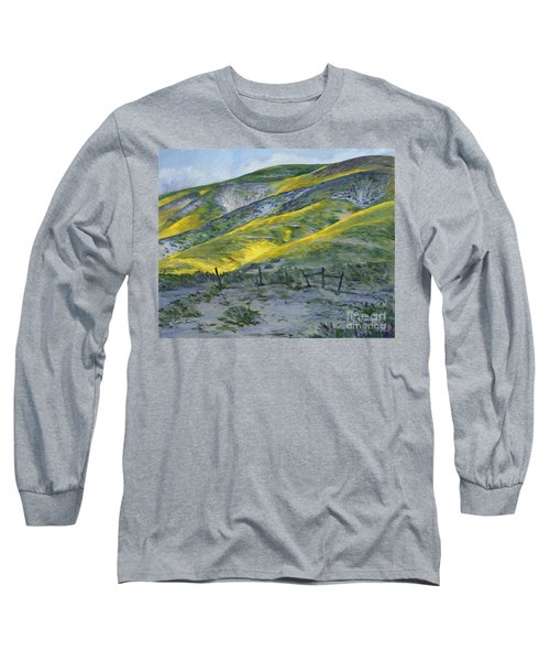 Carrizo Spring Mustard Long Sleeve T-Shirt