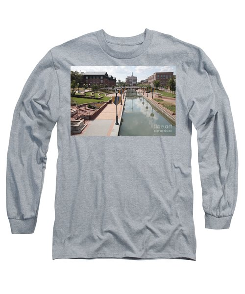 Carroll Creek Park In Frederick Maryland Long Sleeve T-Shirt