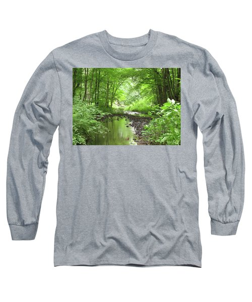 Long Sleeve T-Shirt featuring the photograph Carver Creek by Kimberly Mackowski