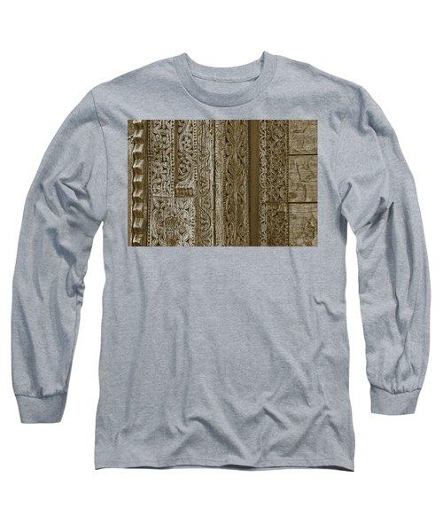 Carving - 1 Long Sleeve T-Shirt by Nikolyn McDonald