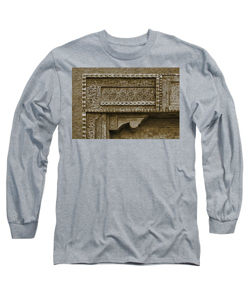 Long Sleeve T-Shirt featuring the photograph Carving - 3 by Nikolyn McDonald