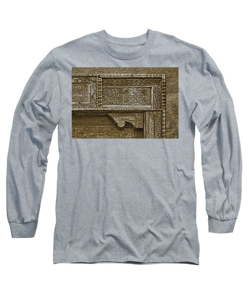 Long Sleeve T-Shirt featuring the photograph Carving - 4 by Nikolyn McDonald