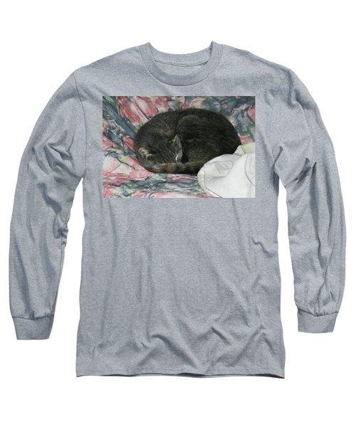 Long Sleeve T-Shirt featuring the photograph Cas-1 by Ellen Lentsch
