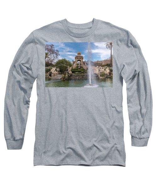 Cascada Monumental Long Sleeve T-Shirt by Randy Scherkenbach