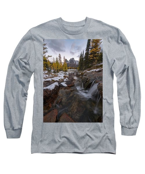 Cascading Long Sleeve T-Shirt