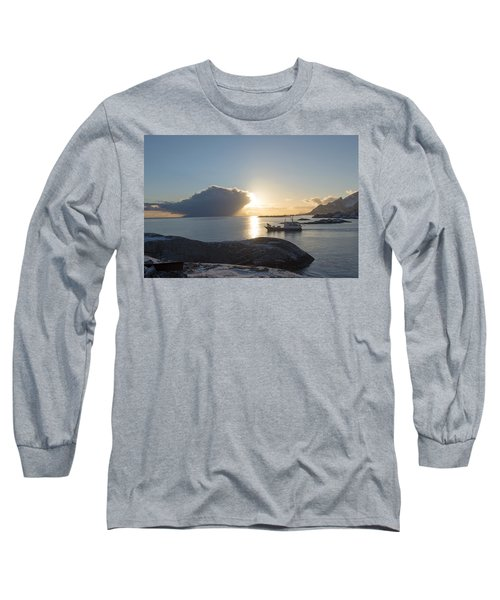 Cast A Giant Shadow... Reine Lofoten Long Sleeve T-Shirt