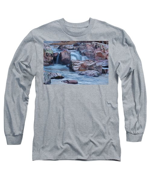 Caster River Shut-in Long Sleeve T-Shirt by Robert Charity
