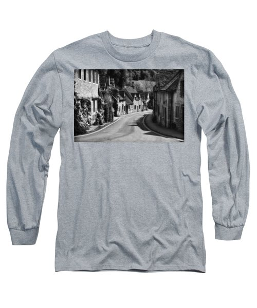 Castle Combe England 2 Bw  Long Sleeve T-Shirt