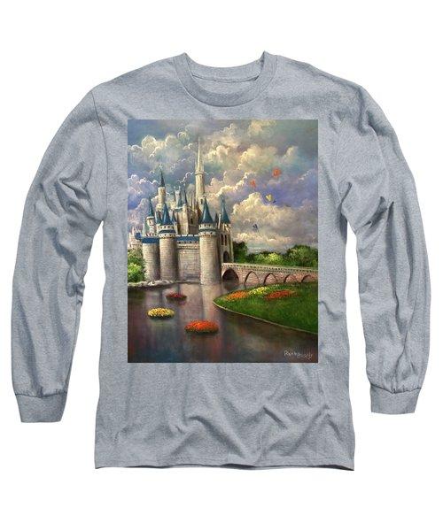 Castle Of Dreams Long Sleeve T-Shirt