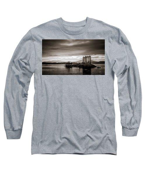 Castle Stalker 1 Long Sleeve T-Shirt by Niels Nielsen