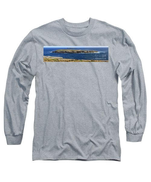 Long Sleeve T-Shirt featuring the photograph Casuarina Islets by Stephen Mitchell
