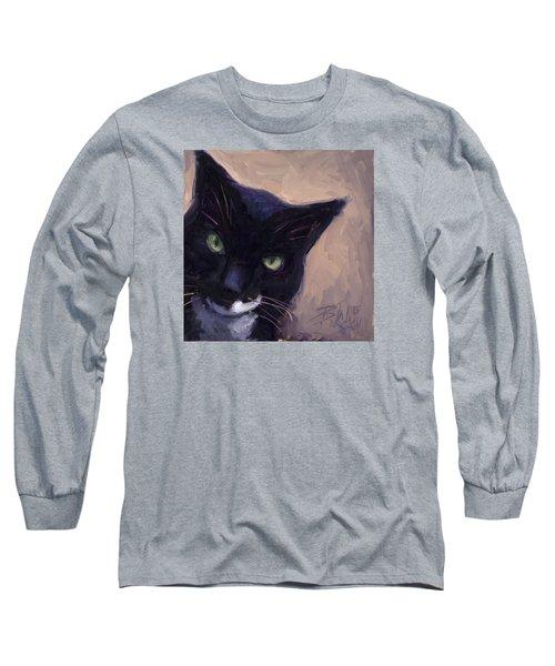 Cat A Tude Long Sleeve T-Shirt