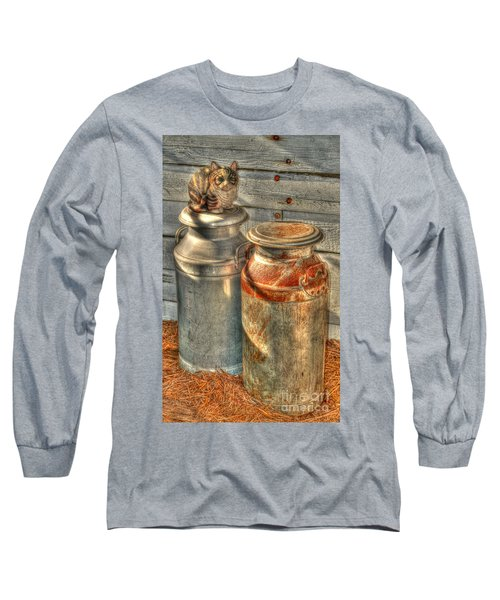 Cat And The Churns Long Sleeve T-Shirt