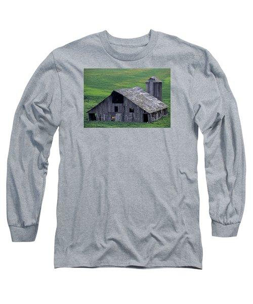 Cat Barn Long Sleeve T-Shirt