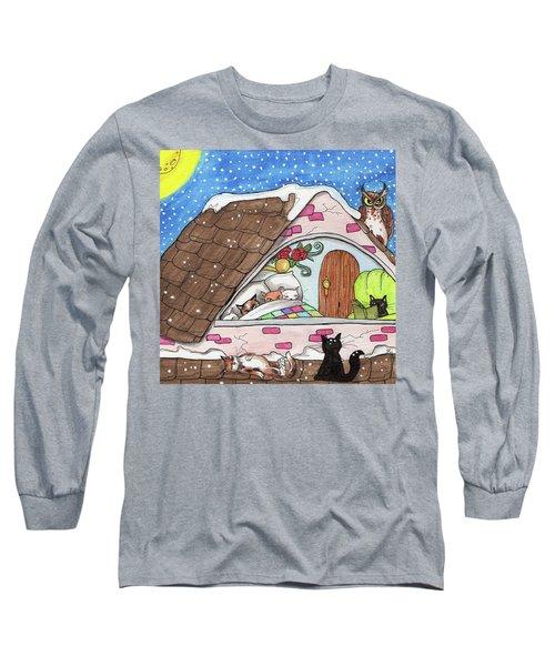 Cat Condo Long Sleeve T-Shirt