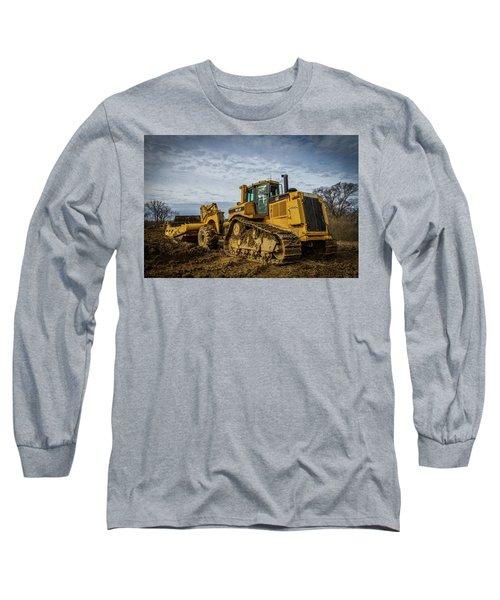Cat Construction Long Sleeve T-Shirt