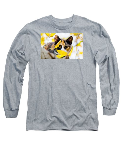 Cat On The Prowl Long Sleeve T-Shirt