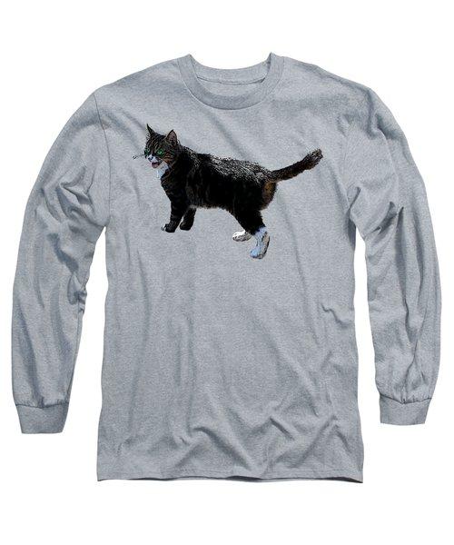 Cat Says Long Sleeve T-Shirt
