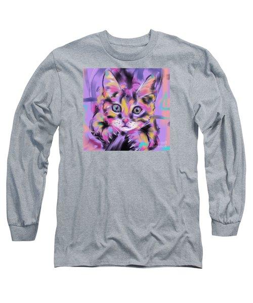 Cat Wild Thing Long Sleeve T-Shirt by Go Van Kampen