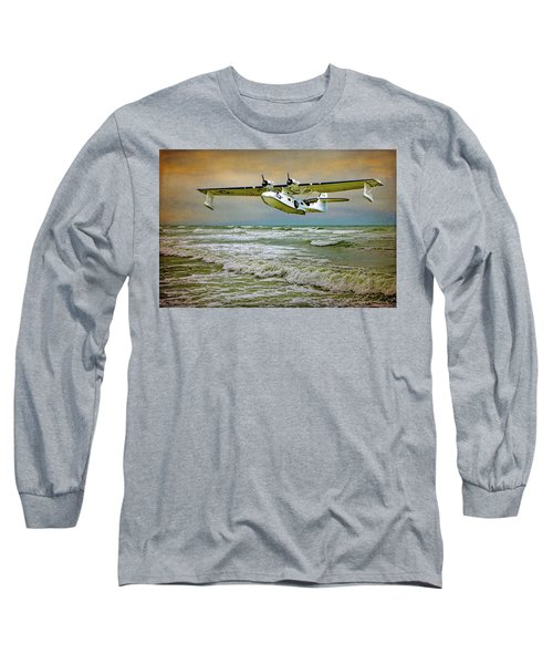 Catalina Flying Boat Long Sleeve T-Shirt