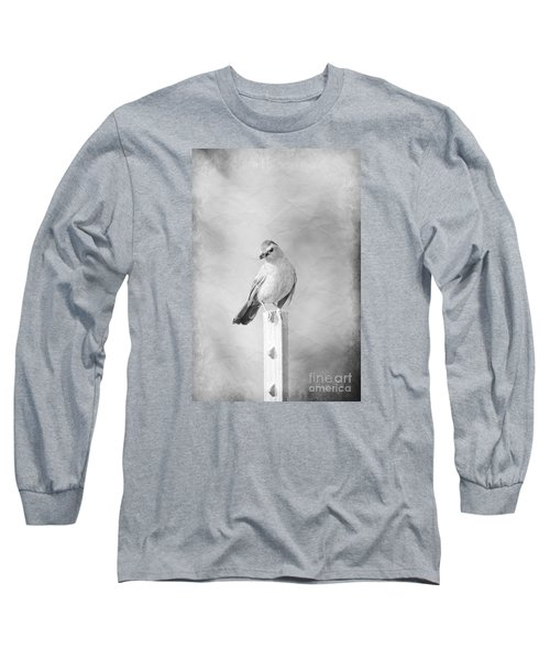 Long Sleeve T-Shirt featuring the photograph Catbird by Lila Fisher-Wenzel