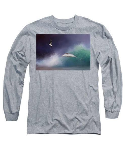Catch A Wave Long Sleeve T-Shirt