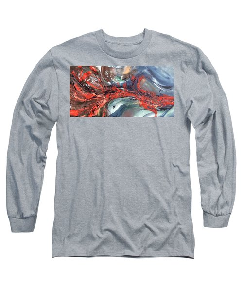 Catch Of The Day Long Sleeve T-Shirt by Pat Purdy