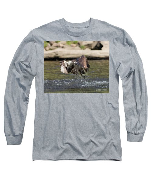 Catch Of The Day Long Sleeve T-Shirt by Ursula Lawrence
