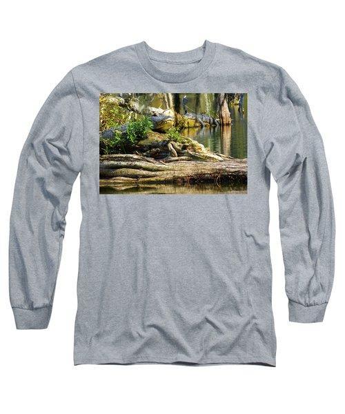Catchin Some Rays Long Sleeve T-Shirt by Kimo Fernandez