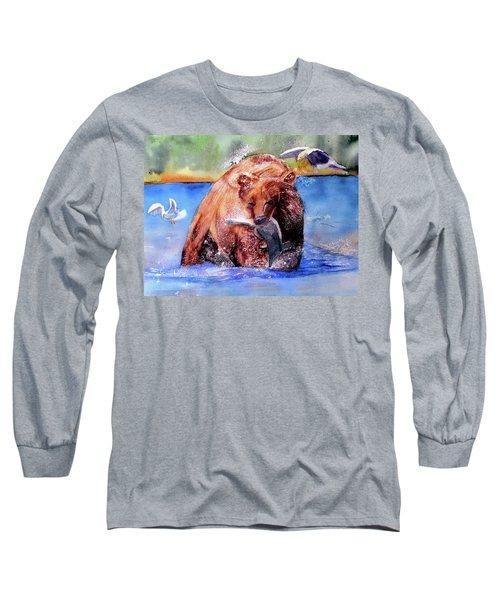 Catching Dinner Long Sleeve T-Shirt
