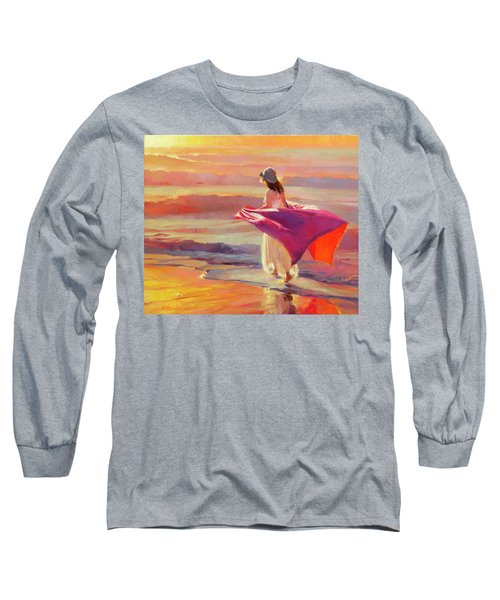Catching The Breeze Long Sleeve T-Shirt