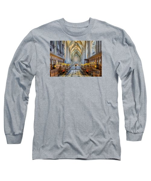Cathedral Aisle Long Sleeve T-Shirt