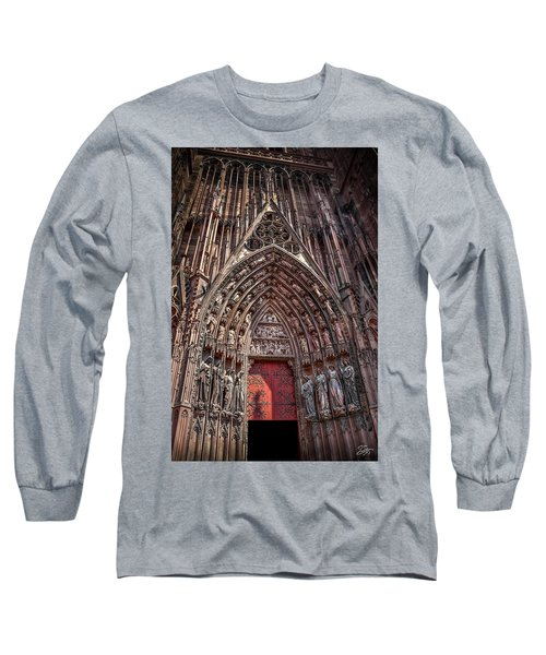 Cathedral Entance Long Sleeve T-Shirt