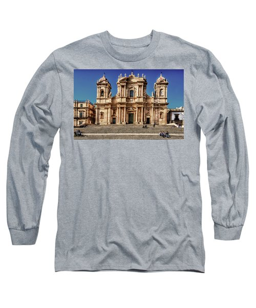 Cathedral II Long Sleeve T-Shirt by Patrick Boening