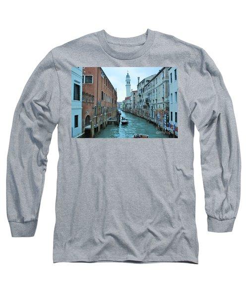 Cathedral Of San Giorgio Dei Greci Long Sleeve T-Shirt