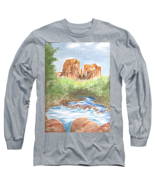 Cathedral Rock 2,  Sedona, Az. Long Sleeve T-Shirt