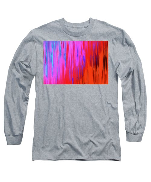 Long Sleeve T-Shirt featuring the photograph Cattails by Tony Beck
