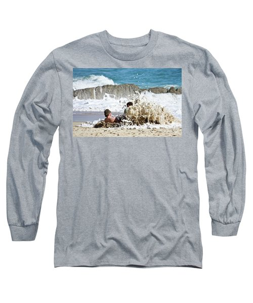 Long Sleeve T-Shirt featuring the photograph Caught From Behind by Terri Waters