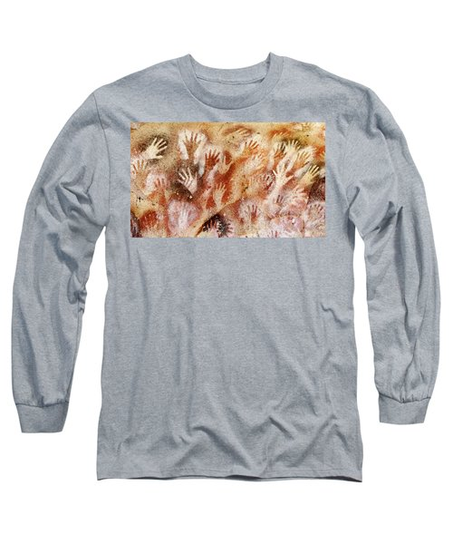 Cave Of The Hands - Cueva De Las Manos Long Sleeve T-Shirt