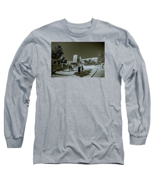 Cave Of The Patriarchs Back Yard Long Sleeve T-Shirt