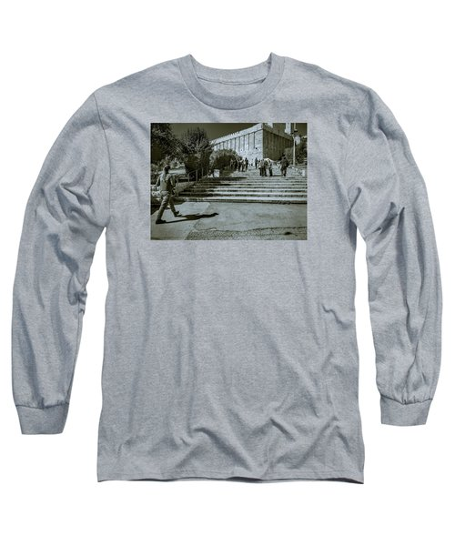 Cave Of The Patriarchs Long Sleeve T-Shirt
