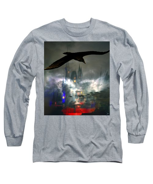 The Castle Long Sleeve T-Shirt by David Lee Thompson