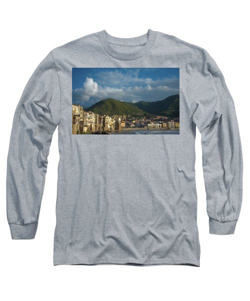 Cefalu  Long Sleeve T-Shirt by Patrick Boening