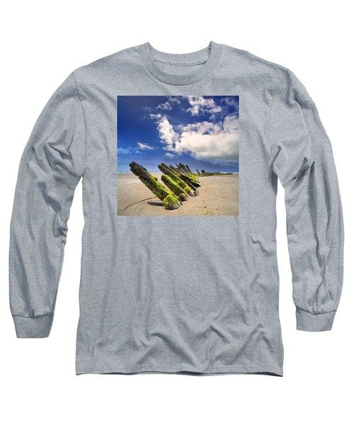 Cefn Sidan Beach 3 Long Sleeve T-Shirt
