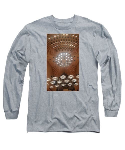 Ceiling Of Syndey Opera House Symphony Hall Long Sleeve T-Shirt by Bev Conover