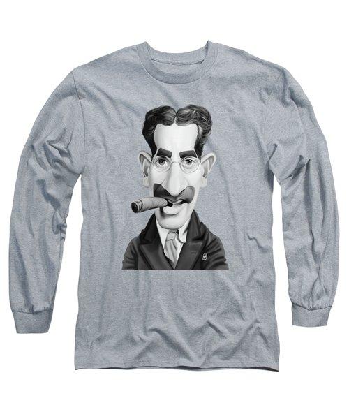 Celebrity Sunday - Groucho Marx Long Sleeve T-Shirt