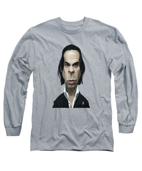 Celebrity Sunday - Nick Cave Long Sleeve T-Shirt