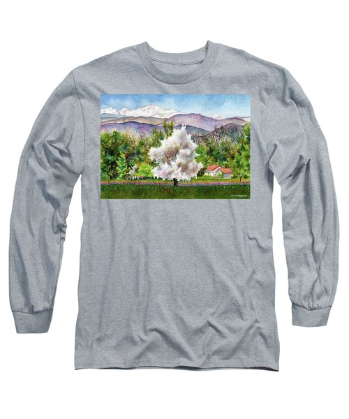 Celeste's Farm Long Sleeve T-Shirt by Anne Gifford