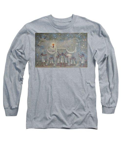 Celestial Cow Long Sleeve T-Shirt