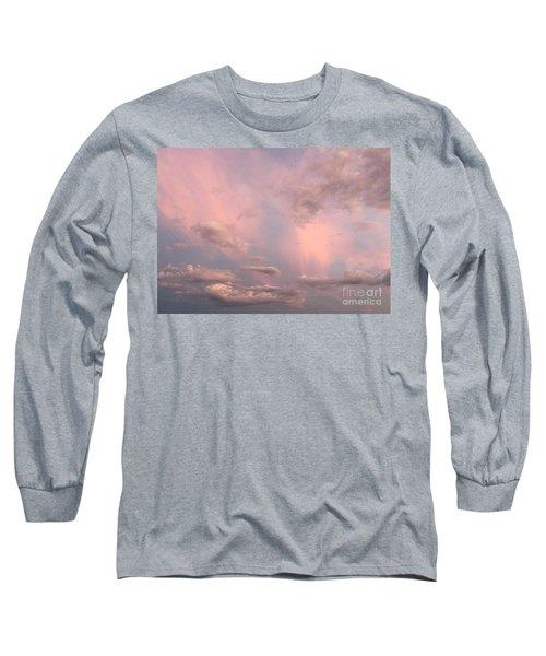 Celestial Sky Long Sleeve T-Shirt by Paula Guttilla